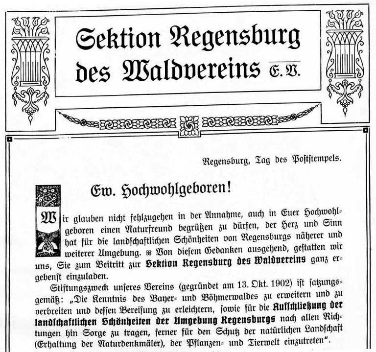 Altes Chronikblatt